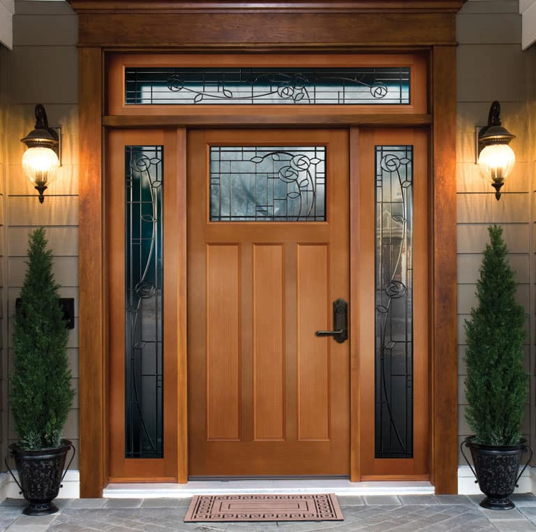 Как выбрать лучшую древесину для вашей входной двери