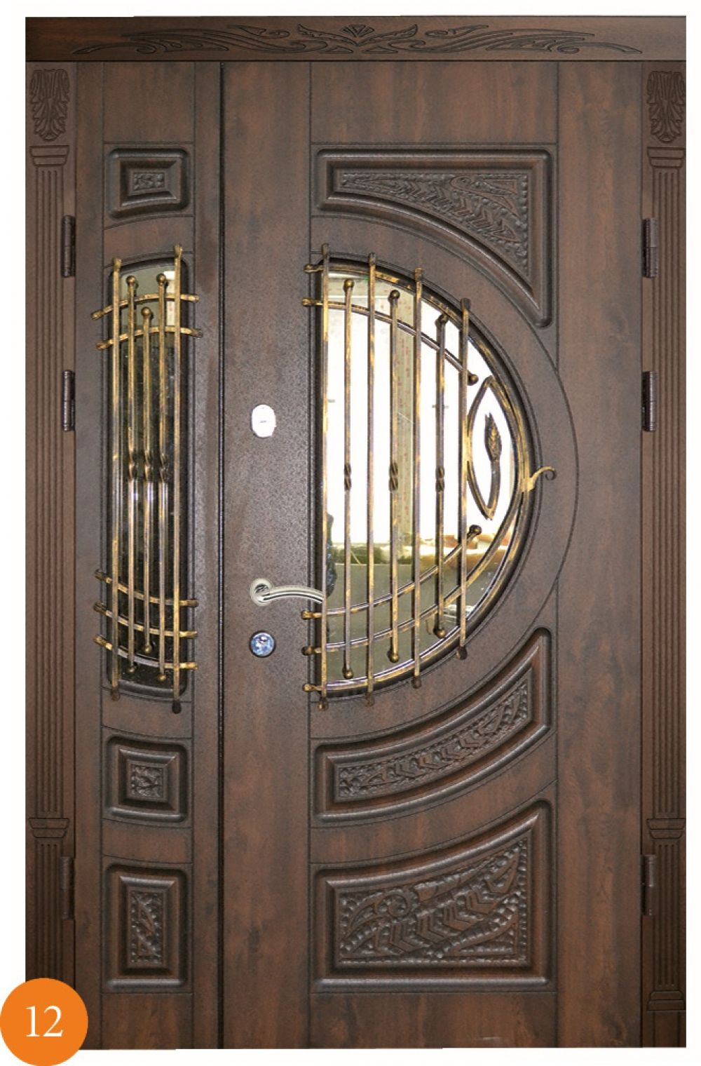 полуторные двери металлические москва недорого